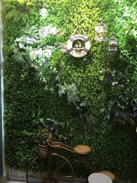 Tường cây nhân tạo